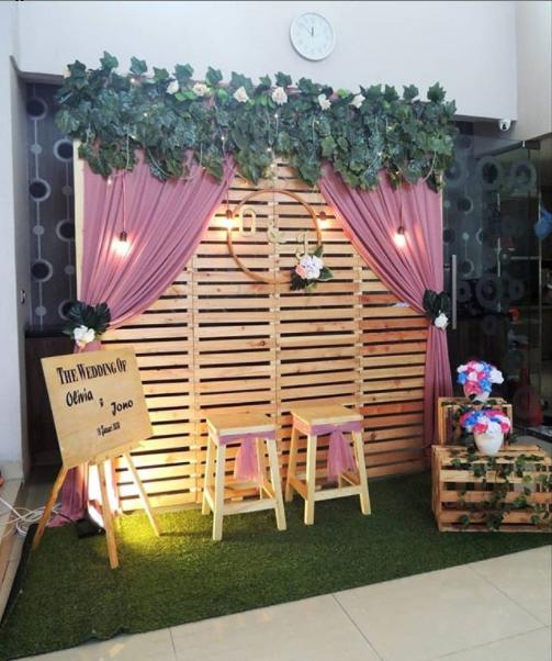 Sewa Backdrop Lamaran Di Rempoa Tangerang Selatan